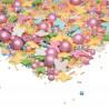 Sprinkles Verde, Rosa, Blanco, Amarillo y Azul Pastel Summer 90 gr Happy Sprinkles