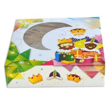 Caja de Roscón de Reyes 23 cm [CLONE] [CLONE] [CLONE]