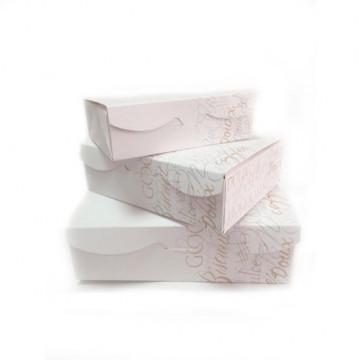 Caja para dulces rectangular 18 x 13.5 x 5.4 cm