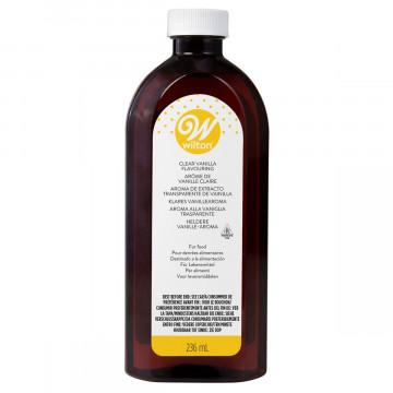 Aroma de Vainilla Transparente 236 ml Wilton