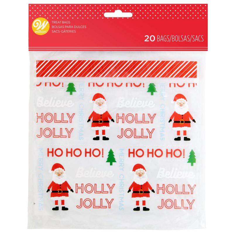 Pack de 20 bolsas herméticas Holly Jolly Wilton