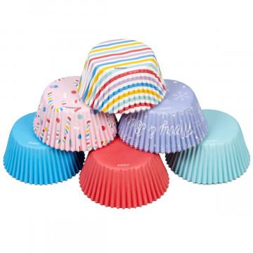 Pack de 150 cápsulas de cupcakes Navidad Pastel Wilton