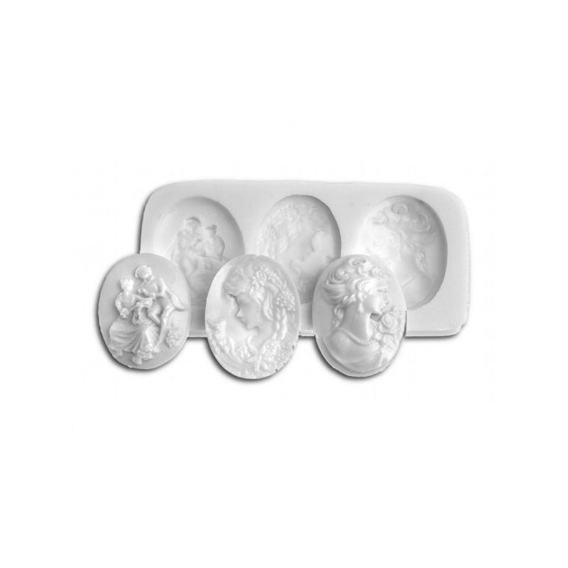 Molde silicona Camafeos SLK