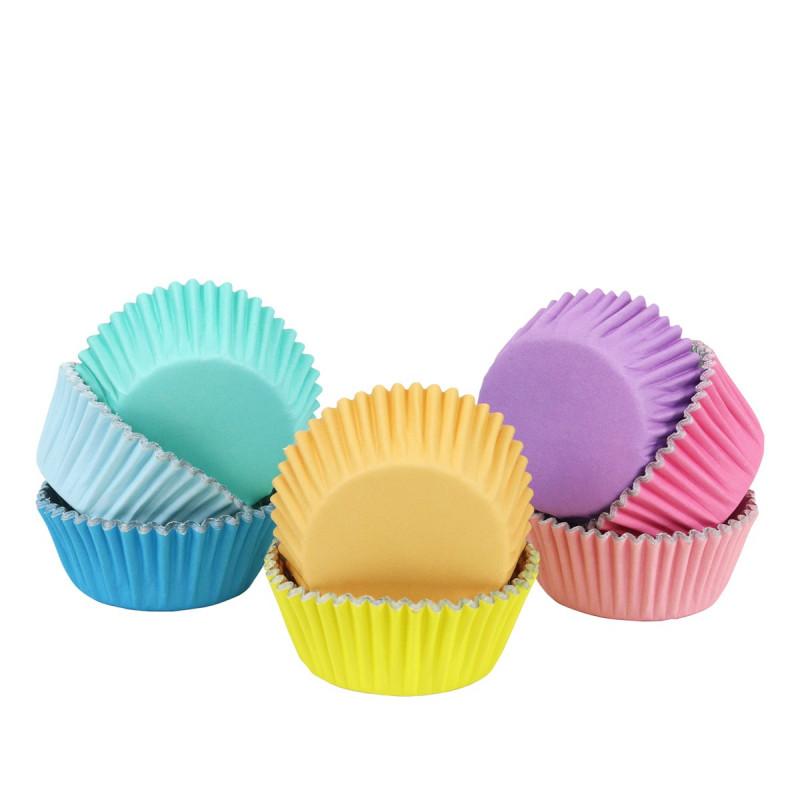 Pack de 100 cápsulas de Cupcakes Colores Pasteles PME
