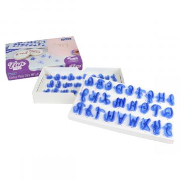 Pack de sellos Letras Fun Mayúscula y Minúsculas PME