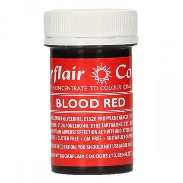 Colorante en pasta Rojo Sangre Blood Red Sugarflair