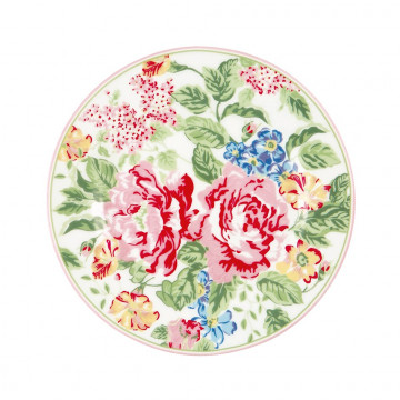 Plato de cerámica 20 cm Emmaline White Green Gate