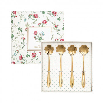 Pack de 4 cucharillas doradas Green Gate