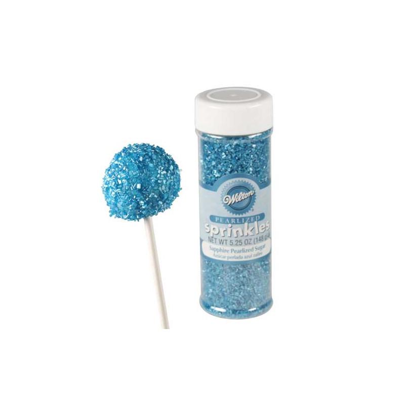 Sprinkles Pearlized Sugar Sapphir Wilton