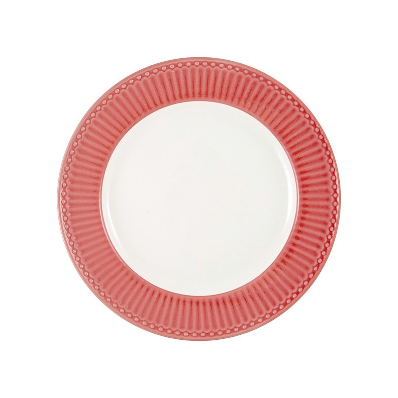 Plato de cerámica 27 cm Alice Coral Green Gate