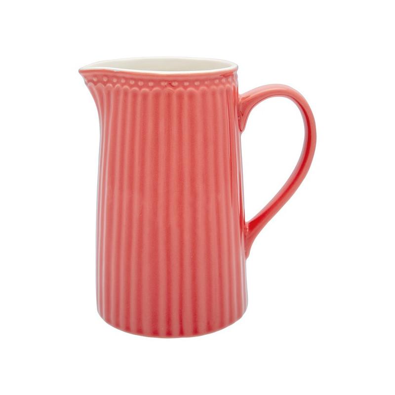 Lechera de cerámica 1 L Alice Coral Green Gate