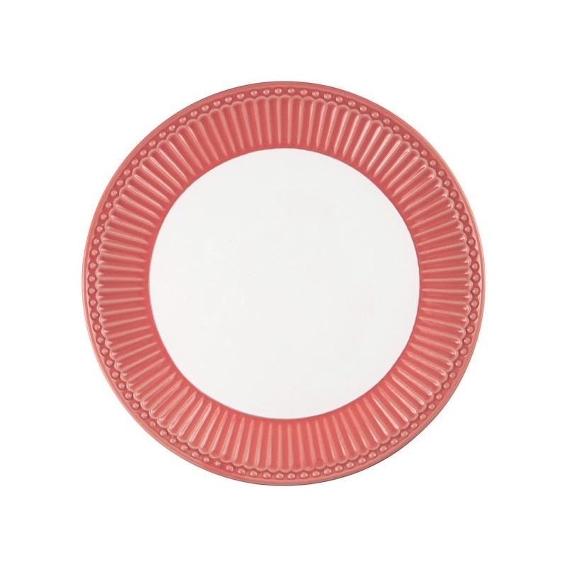 Plato de cerámica 23 cm Alice Coral Green Gate