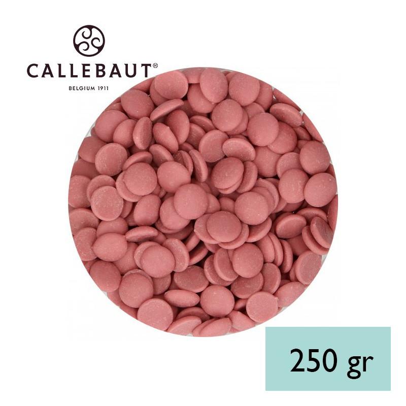 Chocolate RUBY en grageas 250 gr A GRANEL Callebaut