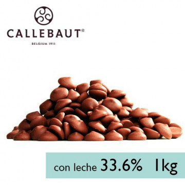Chocolate con leche en grageas 1kg A GRANEL Callebaut