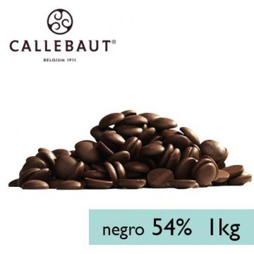 Chocolate negro 54,5% en grageas 1kg A GRANEL Callebaut