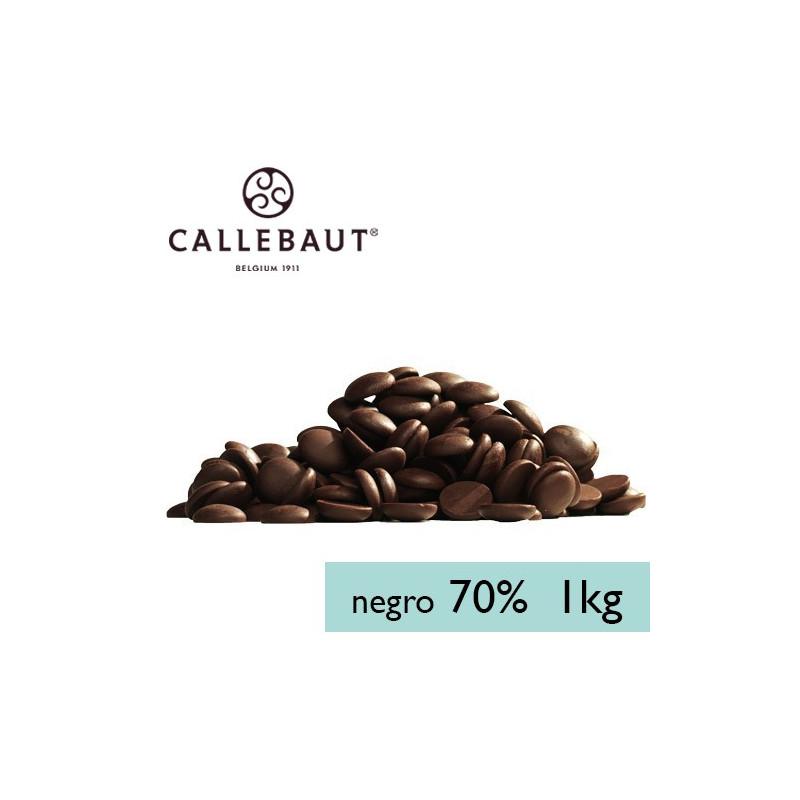 Chocolate negro 70% en grageas 1kg A GRANEL Callebaut