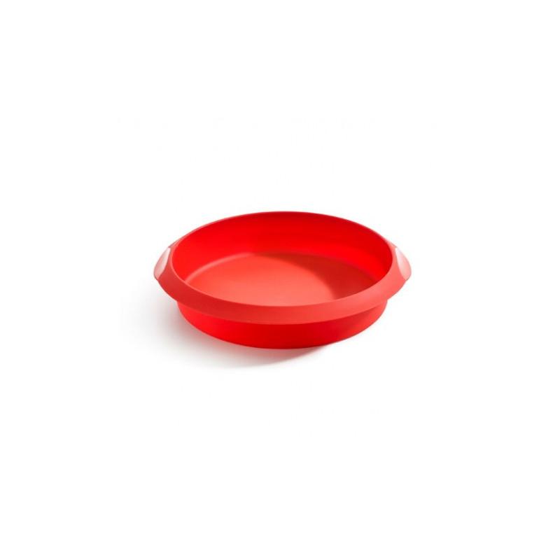 Molde redondo de silicona 20 cm Lékué