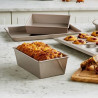 Molde rectangular Plum Cake 23 x 11 cm Kitchen Aid