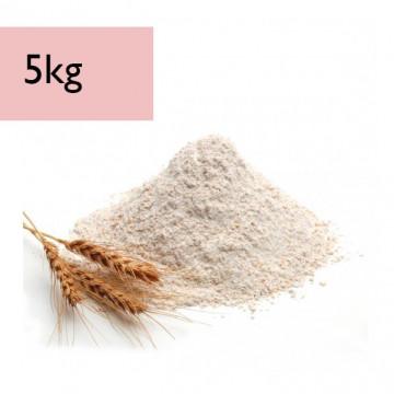 Harina de trigo Integral 5kg El Molino