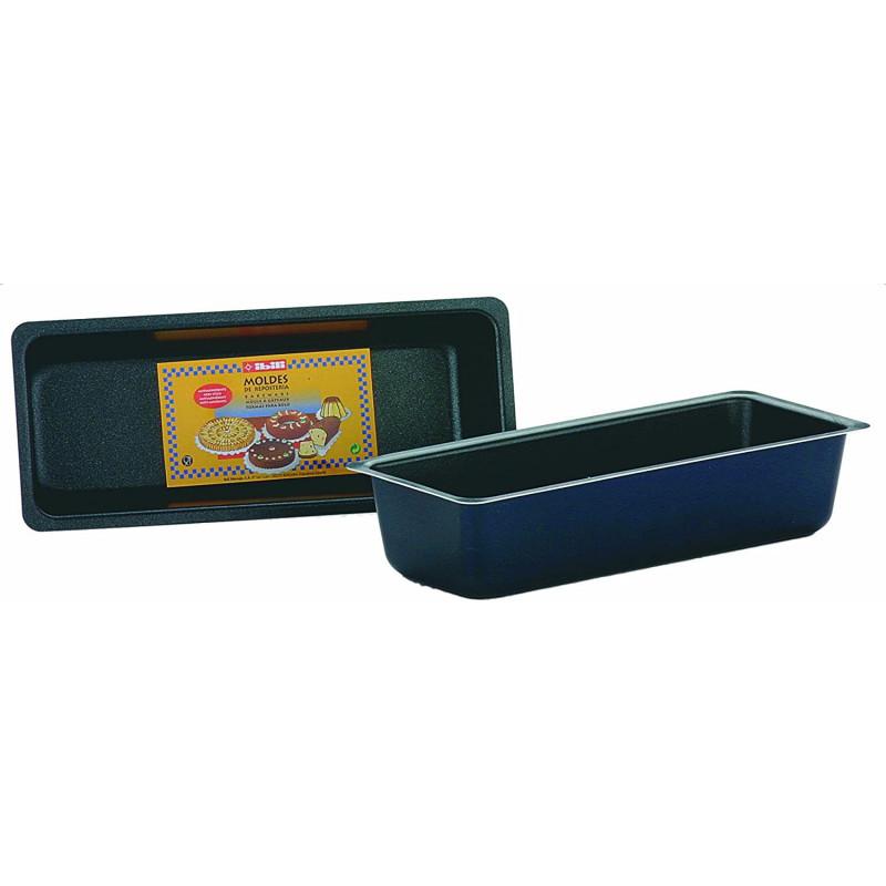 Molde rectangular Plum Cake 25 x 11 cm IBILI
