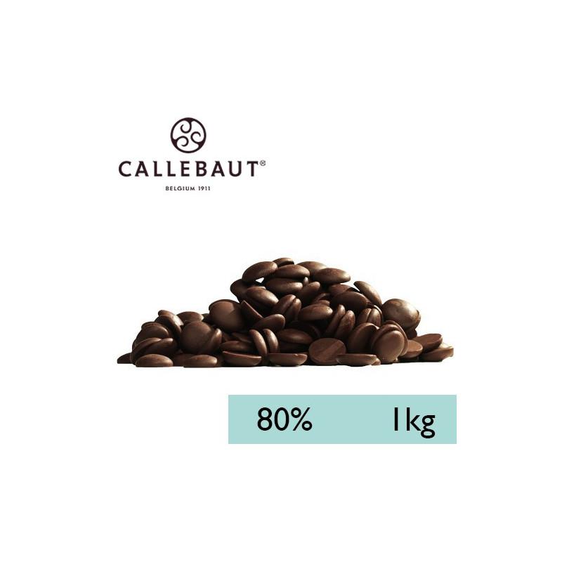Chocolate negro 80% en grageas 1kg A GRANEL Callebaut