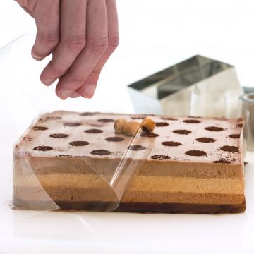 Rollo de acetato de pastelería 10 cm Decora Italia