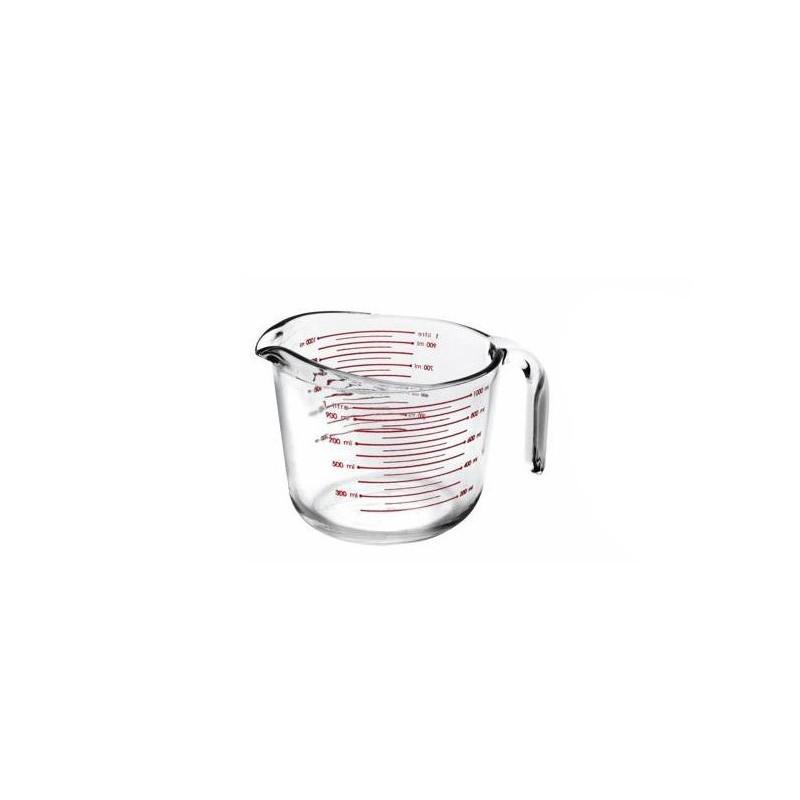 Jarra Medidora Cristal 1 litro Ibili