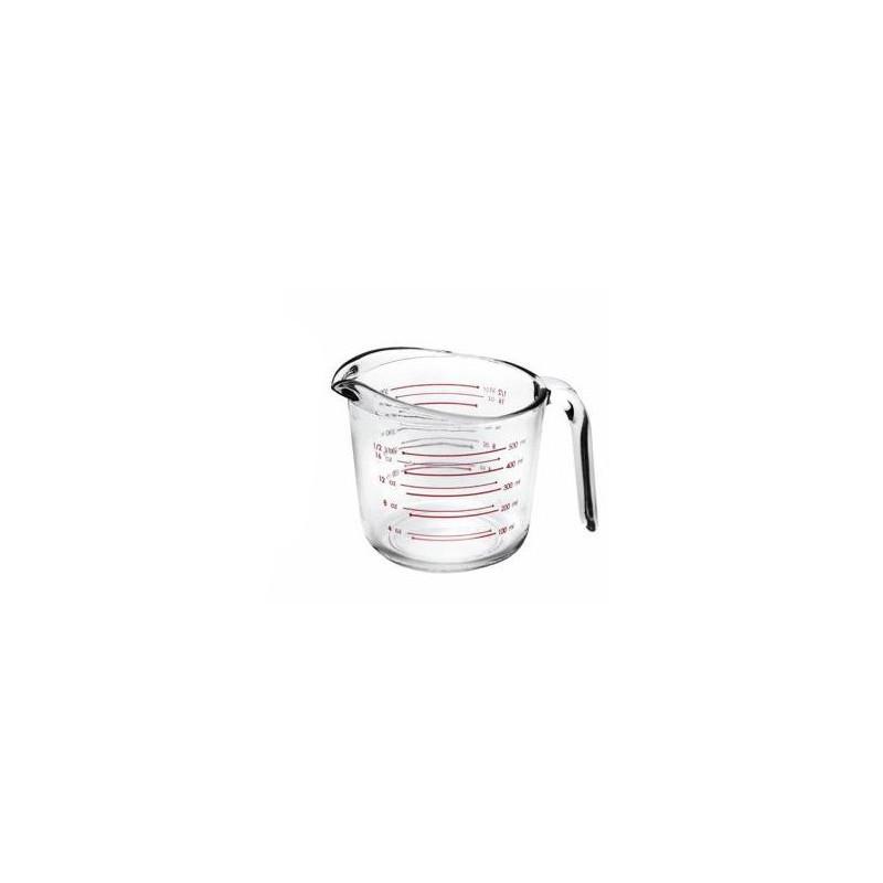 Jarra Medidora Cristal 500 ml Ibili