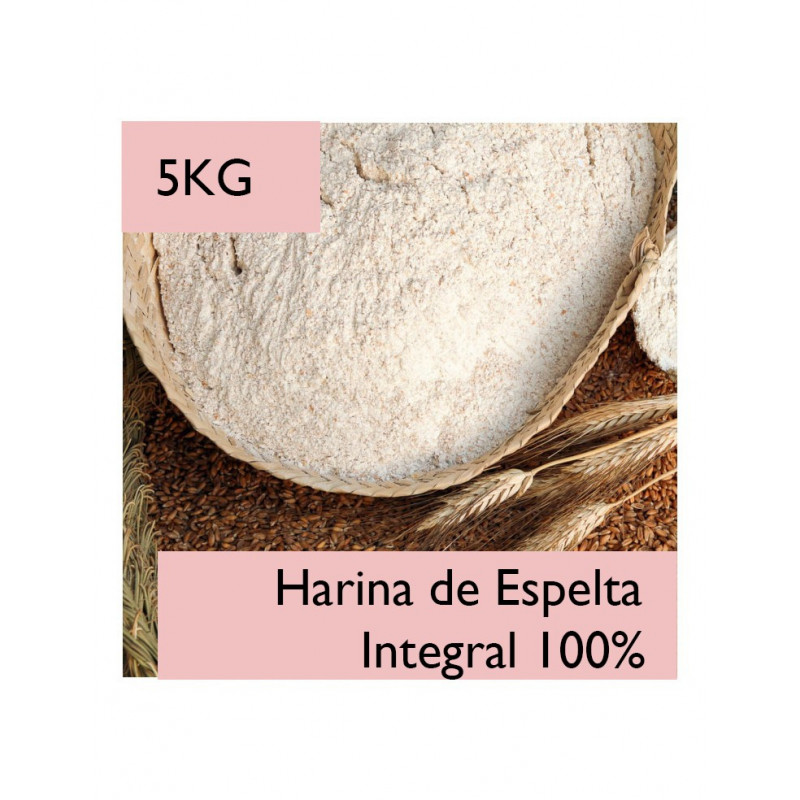 Harina de Espelta Integral 100% El Molino