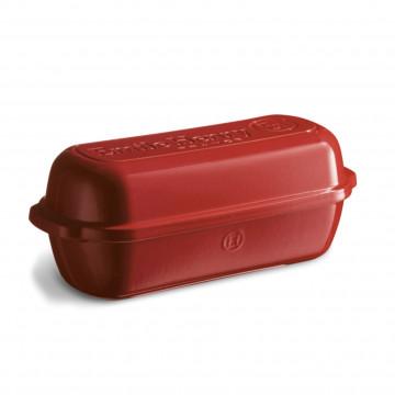 Molde de horno para pan rectangular Grande Rojo Emile Henry