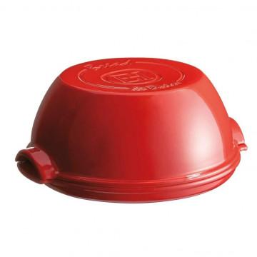 Molde de horno para Pan redondo Rojo Emile Henry