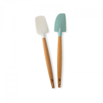 Pack de 2 Mini Espátulas lengua y cuchara Nordic Ware