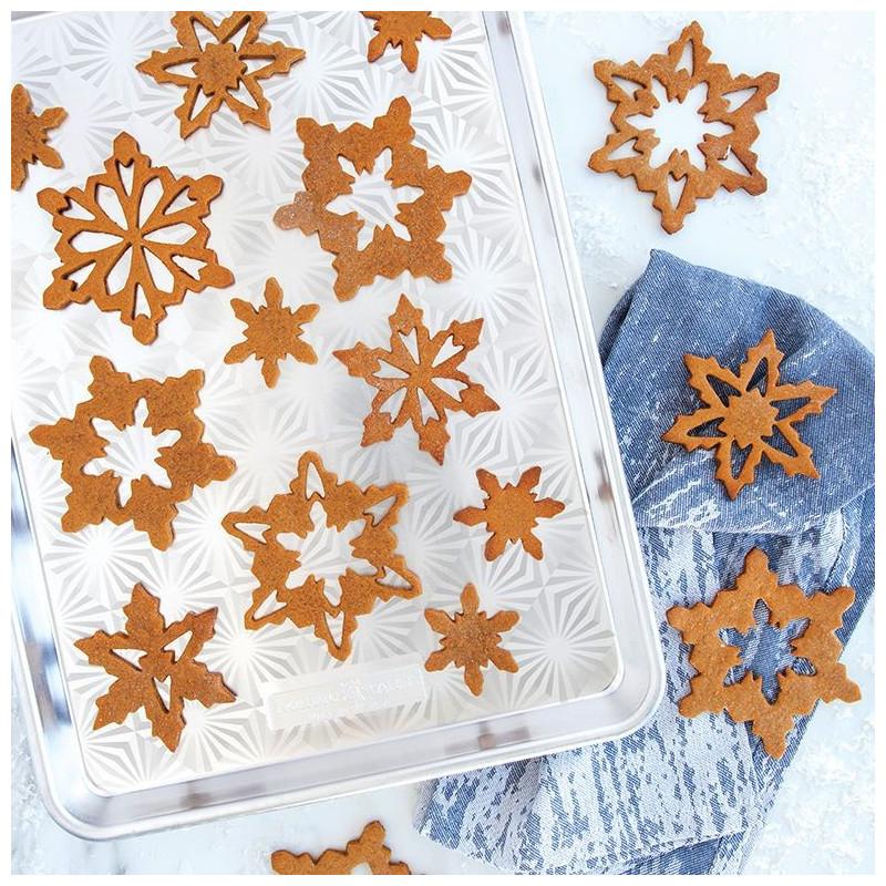 Bandeja rectangular Frozen Snowflake Nordic Ware