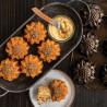 Molde 6 cavidades Sunflower Cakelet pan Nordic Ware