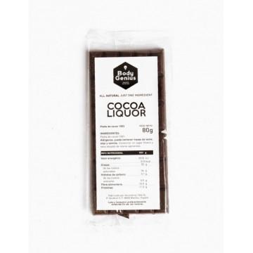 Tableta de Chocolate Cacao Puro sin azúcar My Body Genius