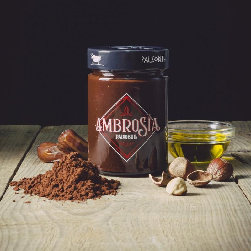 Crema de Cacao y Avellanas AMBROSIA PaleoBull