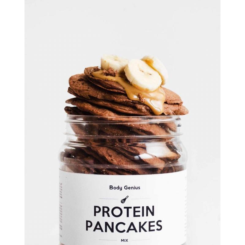 Protein Pancakes Sin Azucares CHOCOLATE My Body Genius
