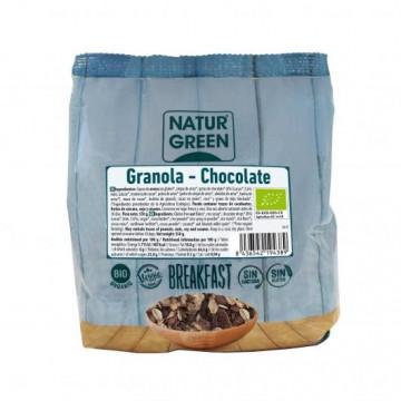 Granola Chocolate Sin Gluten Bio 350 g NaturGreen