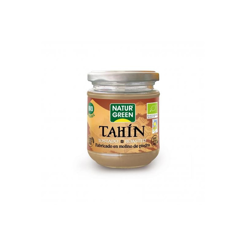 Mantequilla de Tahín Tostado Bio 300 g NaturGreen