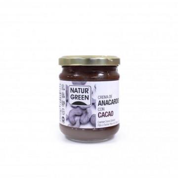 Crema de Anacardos con Cacao Bio 250 g NaturGreen