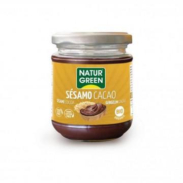 Crema de Sésamo y Cacao Bio 200 g NaturGreen