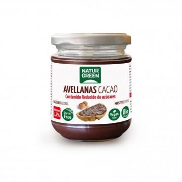 Crema de Avellanas y Cacao Bio 200 g NaturGreen