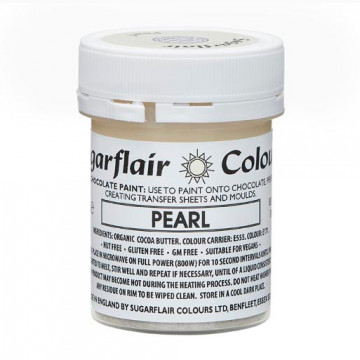 Pintura Comestible para Chocolate PEARL Sugarflair