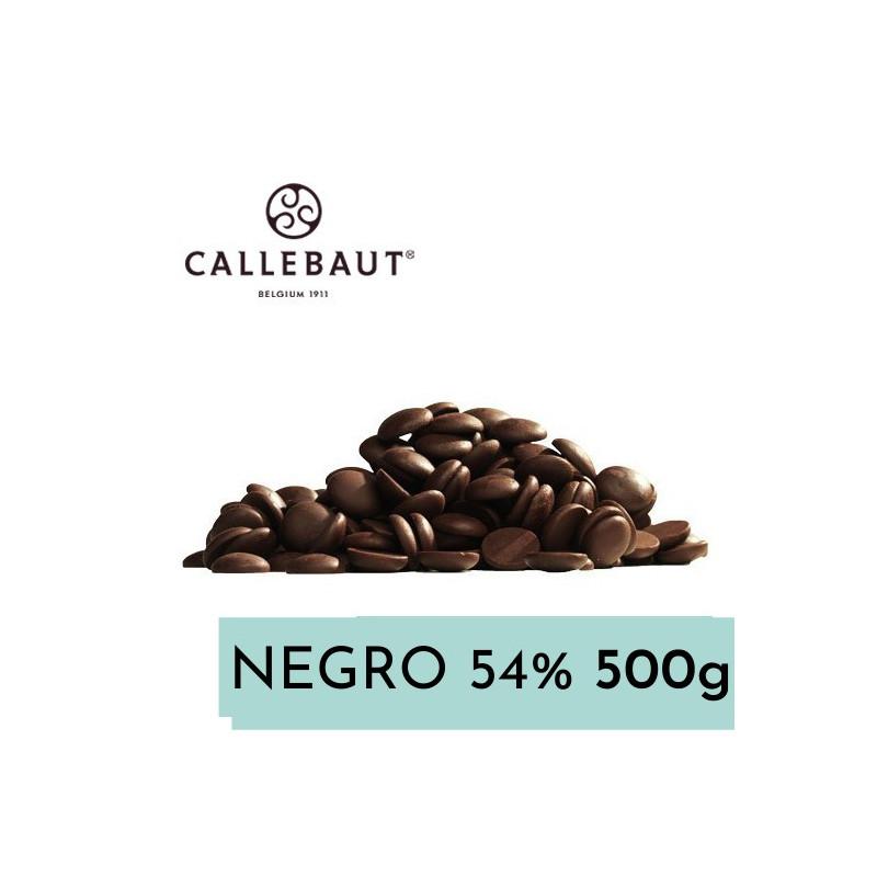 Chocolate negro 54,5% en grageas 500 gr A GRANEL Callebaut
