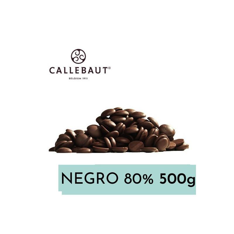 Chocolate negro 80% en grageas 500 g A GRANEL Callebaut