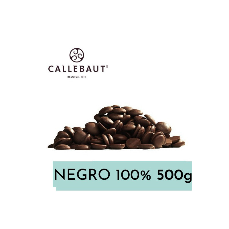 Chocolate negro 100% en grageas 500 g A GRANEL Callebaut