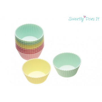Molde Cupcakes silicona pack 6 base Muffin Sweetly does it