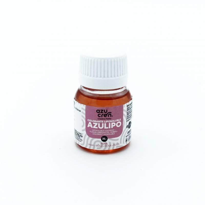 Colorante liposoluble ROSA 35 ml Azulipo Azucren