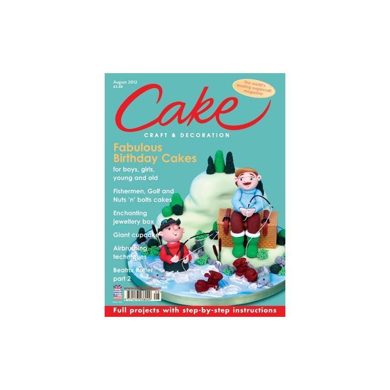 Revista Cake Craft & Decoration Edición Agosto 2012