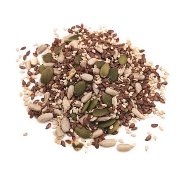 Mix de Semillas: girasol, chía, calabaza y sesamo 1kg